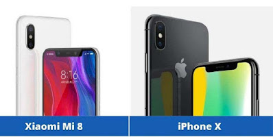 xiomi vs iphone