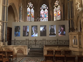 Art installation Tyntesfield chapel