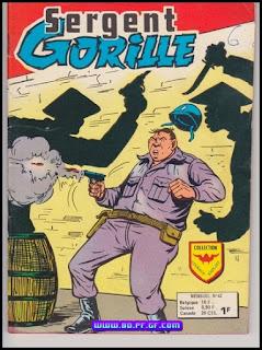 Sergent Gorille, Ombres chinoises, numéro 42, 1975