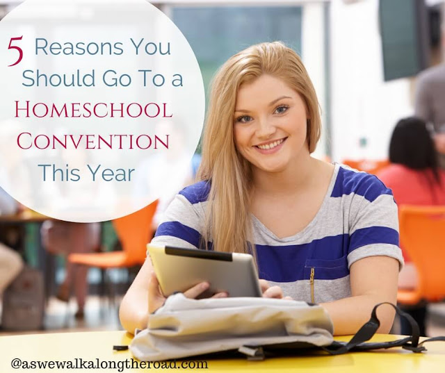 Why attend a homeschool convention