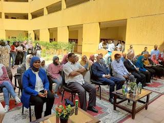 رئيس جامعة الأقصر يشهد حفل استقبال الطلاب الجدد بكلية الآثار