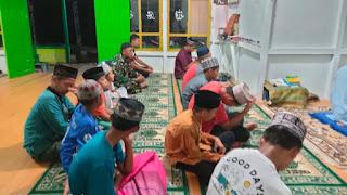 Zidam XII/TPR Laksanakan Ibadah bersama Masyarakat di Kabupaten Temajuk
