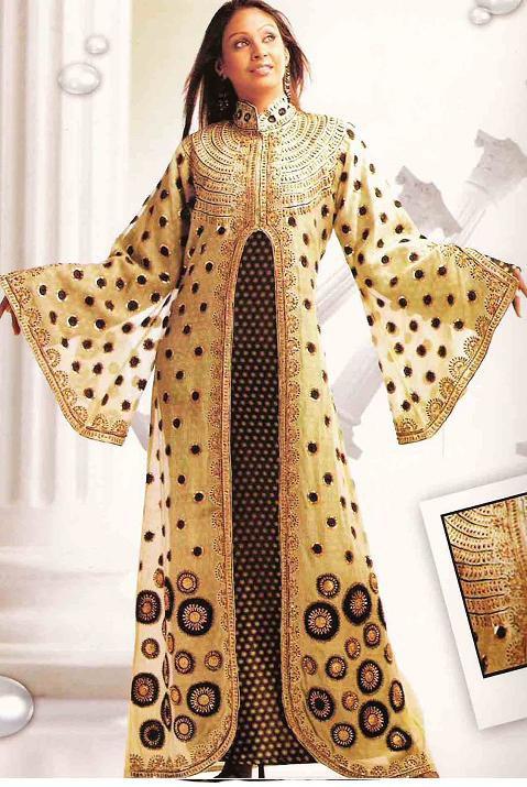 Fashion world latest Fashion: Arabian wedding dresses.