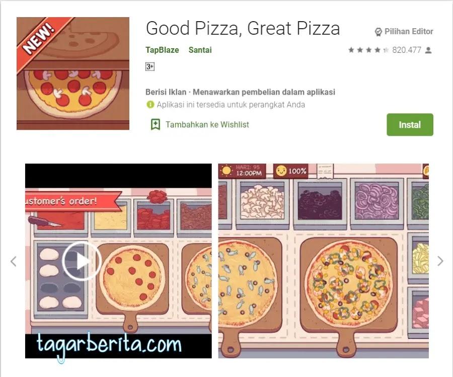 Game Memasak - Good Pizza Great Pizza