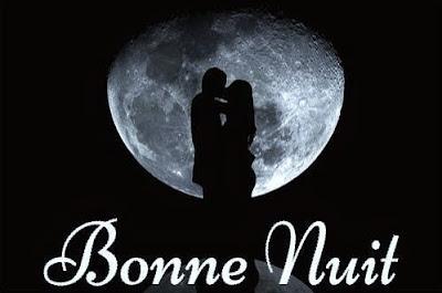 Bonne & excellente nuit sur une lune d'amour