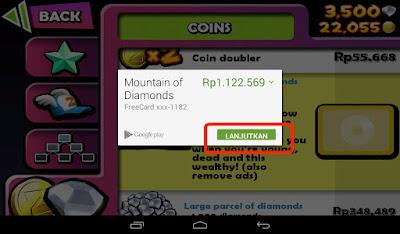 Cara Paling Mudah Cheat Uang dan Diamond Zombie Tsunami di Android