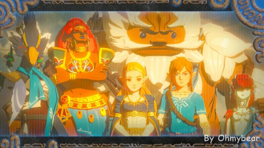 Ohmybear: The Legend Of Zelda - Breath Of Wild 薩爾達傳說-荒野之息,值得推薦的好遊戲