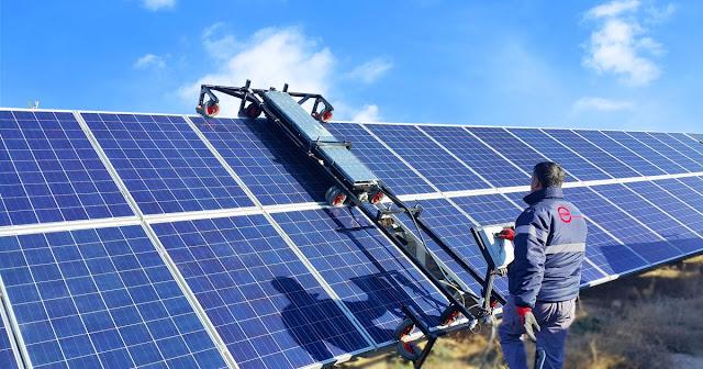 güneş paneli bakımı