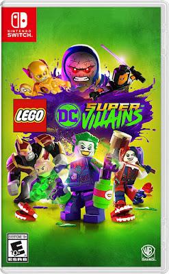 Lego Dc Super Villains Game Cover Nintendo Switch