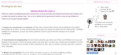 http://suenosdepapelynubesdetinta.blogspot.com.es/2014/10/privilegios-de-leer.html