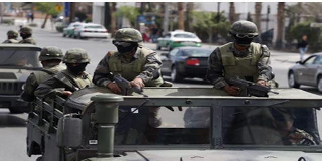 Un convoy de civiles armados desató hoy en Xalapa un fuego cruzado tras perseguirse y se diestra y siniestra con Ford tipo Lobo y una poderosa Titán