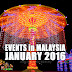 Events and Festivals in Malaysia January 2016