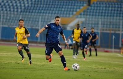 ملخص واهداف مباراة بيراميدز والانتاج الحربي (3-2) الدوري المصري