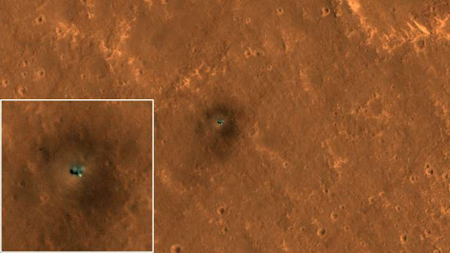 New Satellite Pics Show Curiosity and InSight Hard at Work on Mars - rictas.com