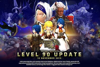 Dragon Nest Indonesia Update Level 90