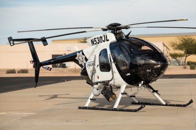 MD 530F helicopter