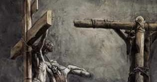 ROMAN CRUCIFIXION METHODS 6: JESUS REFUSED VINEGAR & HYSSOP |