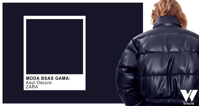 Negro color para abrigos de moda otoño invierno 2021
