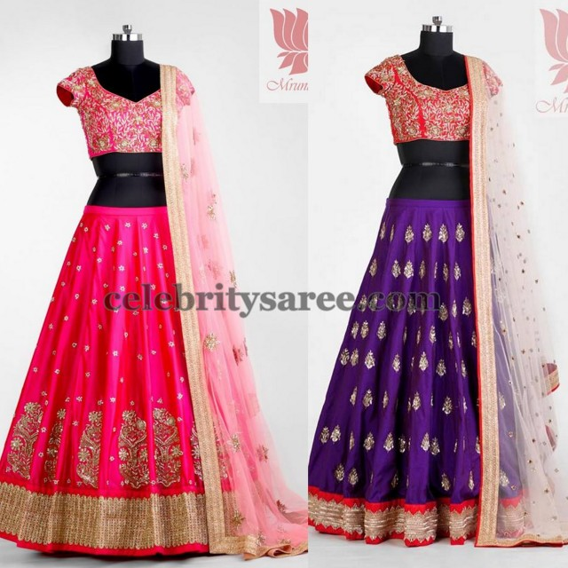 Latest Lehengas by Mrunalini Rao