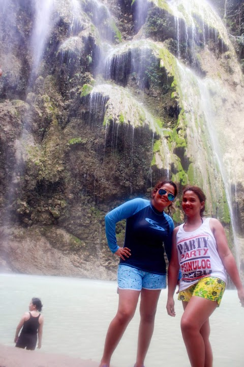 Summer is Fun at Tumalog Waterfalls in Oslob Cebu - Trip Guide