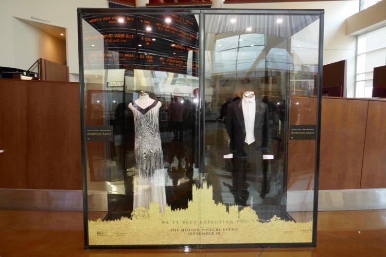 Downton Abbey movie costume exhibit