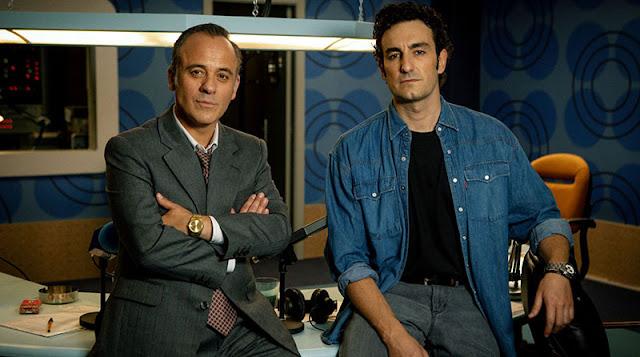 Javi Gutiérrez y Mike Esparbé en 'Reyes de la noche'