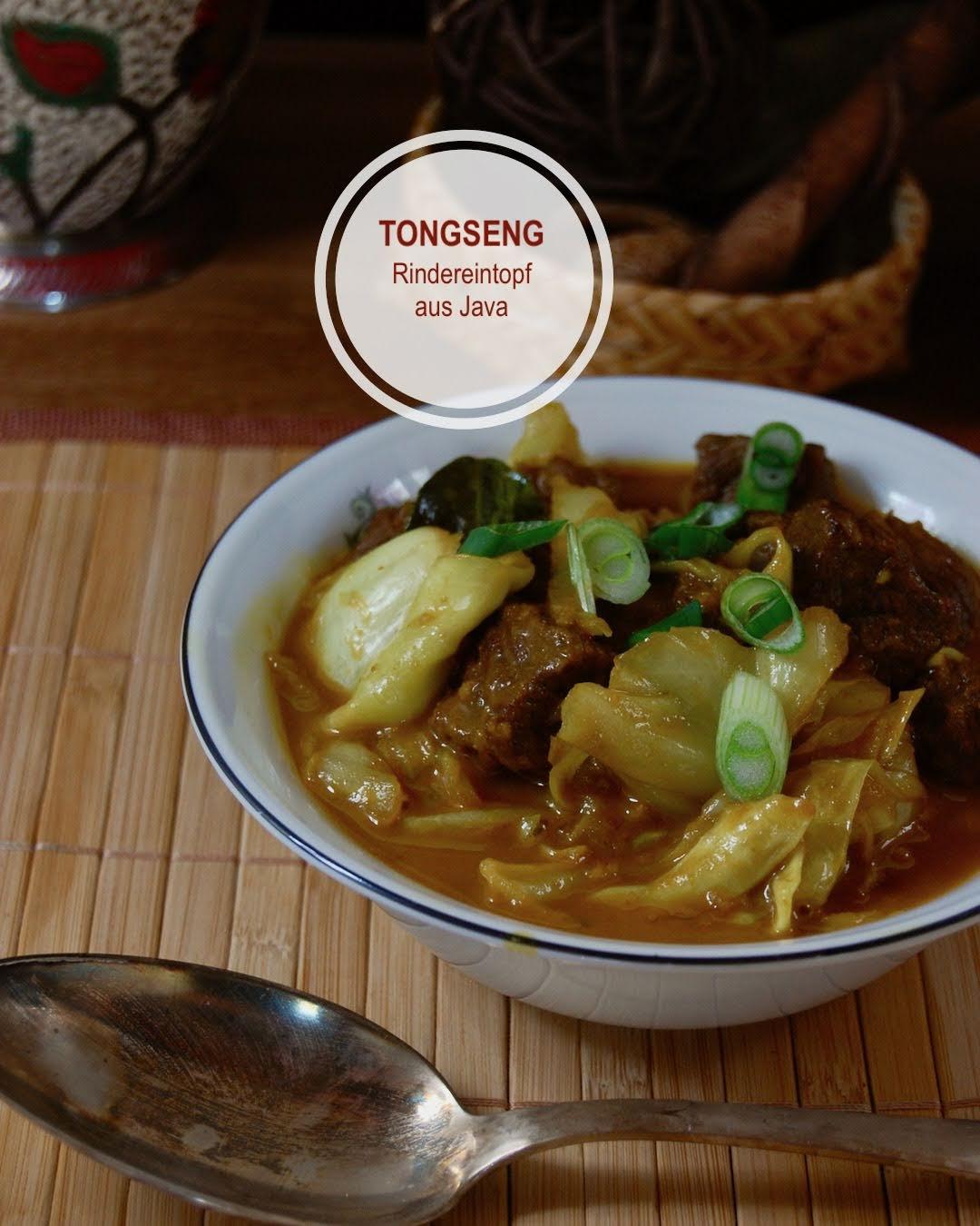 Rezept Tongseng Sapi, Rindereintopf