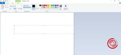 2. Arahkan mouse pada lokasi yang ingin di tambahkan teks