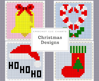 http://www.thecraftyco.com/christmas-crochet-charts/