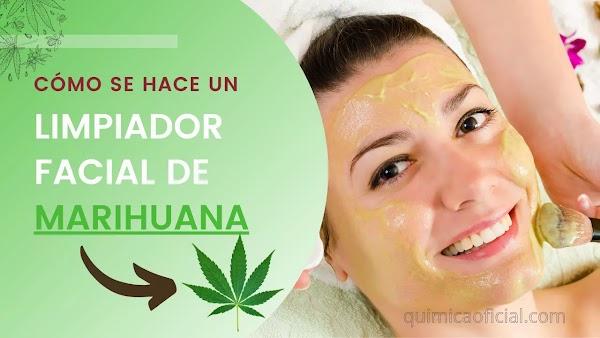Limpiadores facial hecho a base de cannabis