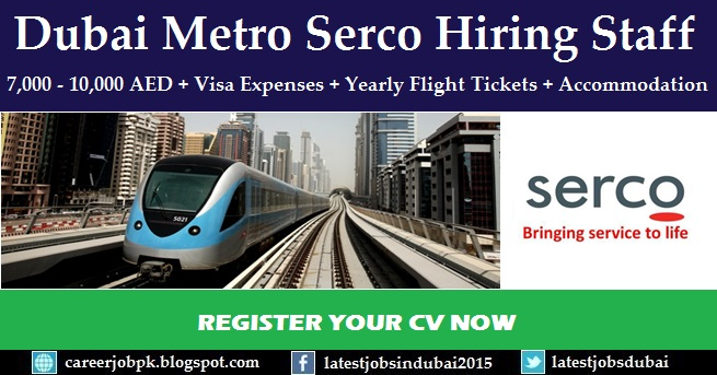 Dubai Metro careers and job vacancies in Dubai