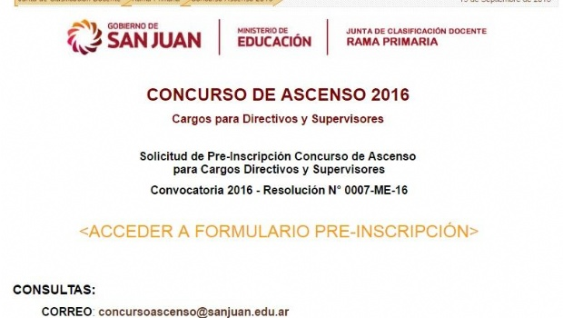 Unidad docente concurso de ascenso docente pre inscripci n for Resolucion docentes 2016