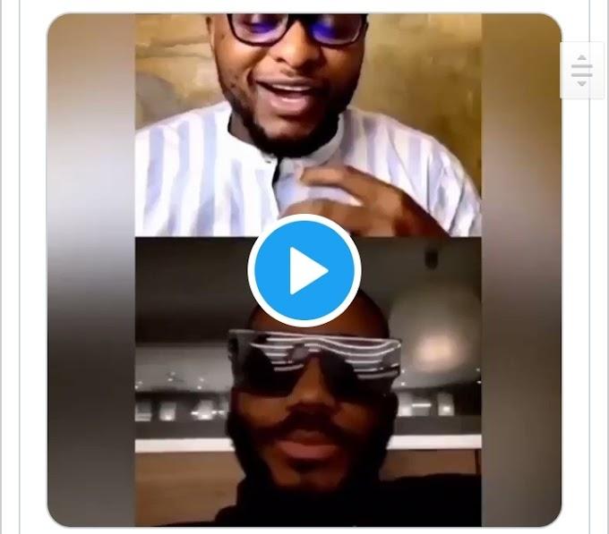 Video: Moment Kiddwaya 'embarrassed'Ubi Franklin during IG live for asking about Erica (Video)