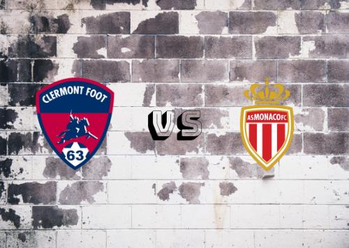 Clermont Foot vs AS Mónaco  Resumen