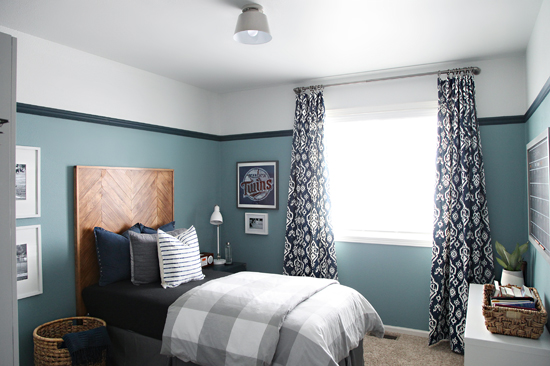 IHeart Organizing: Our Teen Boy's Bedroom Is Finished