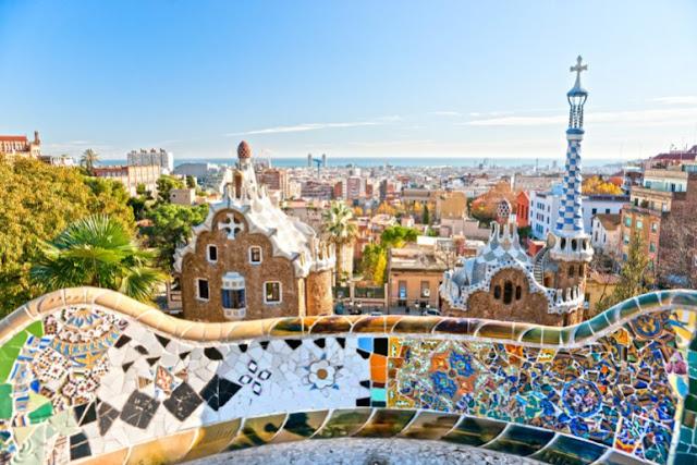Viagem de carro de Paris à Barcelona