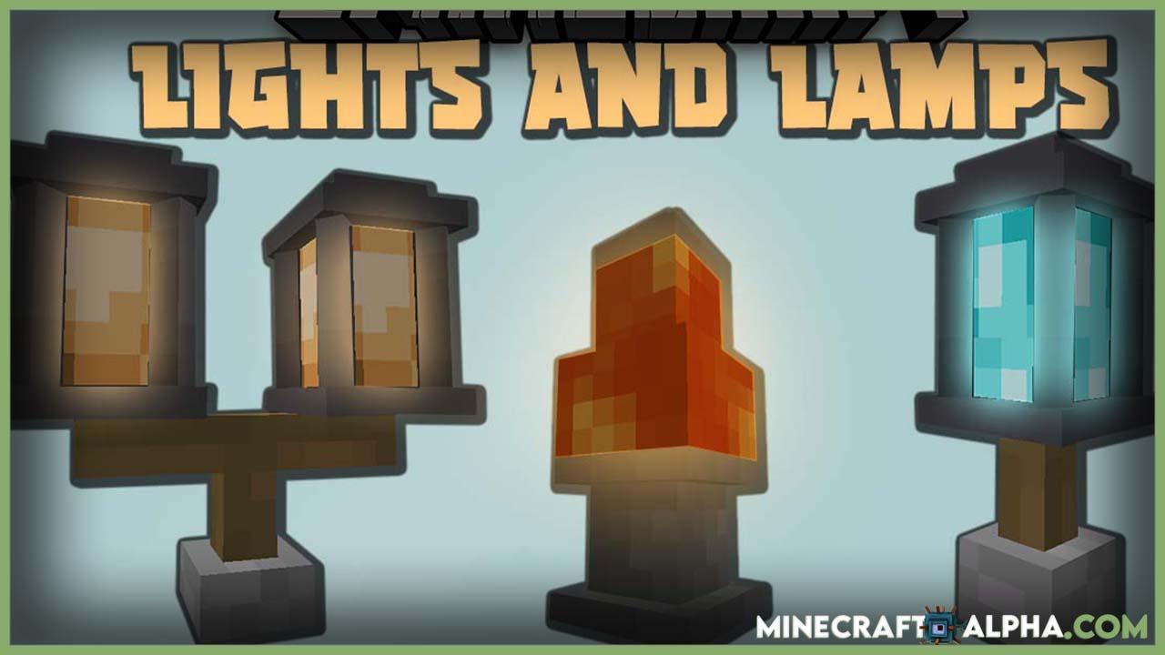 Minecraft Lights and Lamps Mod 1.16.5 (Lighting)