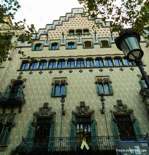 Casa Amatller, de Josep Puig i Cadafalch, em Barcelona
