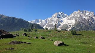 Sonmarg in Kashmir