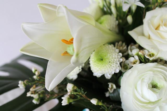 Weisse Blumen Lilie Flower Power Bloggers Blumen Wochenthema Jules kleines Freudenhaus