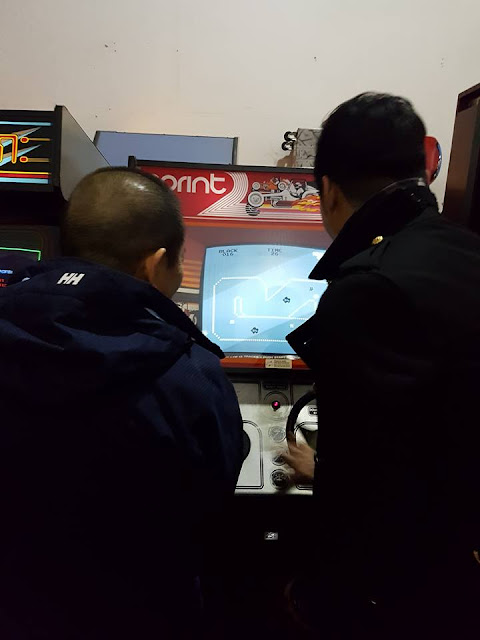 Yu playing Sprint 2