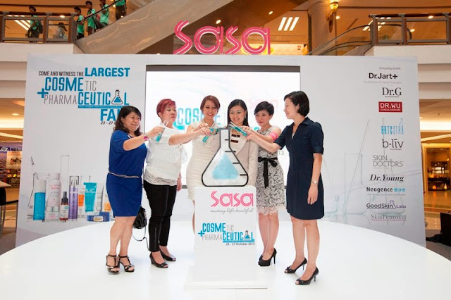 Sa Sa Cosmeceutical Fair 2013, sasa, cosmetic, Pharmaceutical, Cosmeceutical, GoodSkin Labs, Skin Peptoxyl, b.liv, Skin Doctors, BRTC, Dr. G, Dr. Jart, Dr. Young, Dr. Wu, Neogence