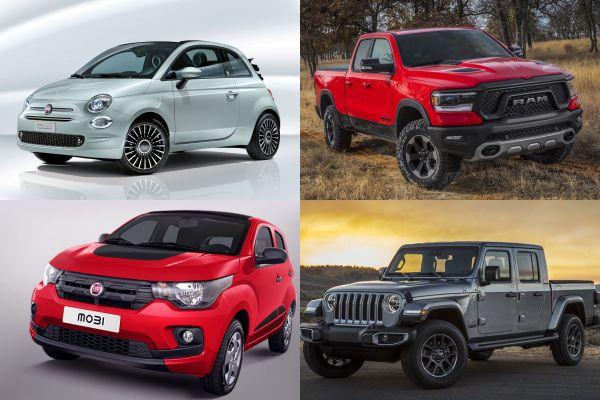 Fiat, RAM y Jeep, Argentina 2021
