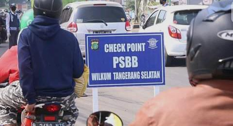 Gubernur Banten Perpanjang PSBB di Tangerang Raya