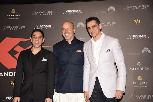 Sanjeev Kumar Bijli, DJ Caruso and Ajay Bijli