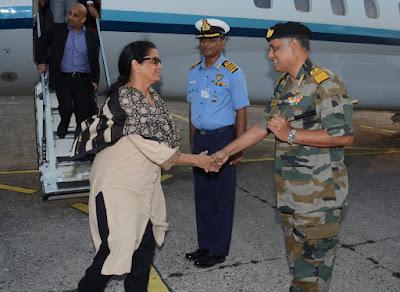 Defence Minister Nirmala Sitharaman's 2-day visit to Andaman Nicobar Command (ANC)
