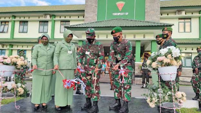 Pangdam I/BB Kunjungi Batalyon Komposit 1/Gardapati