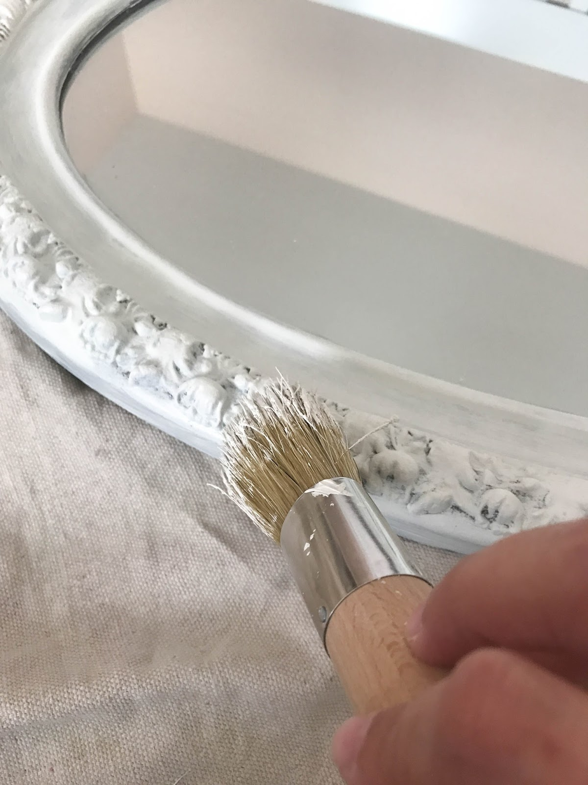 painting a mirror