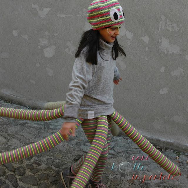 costume polpo DIY