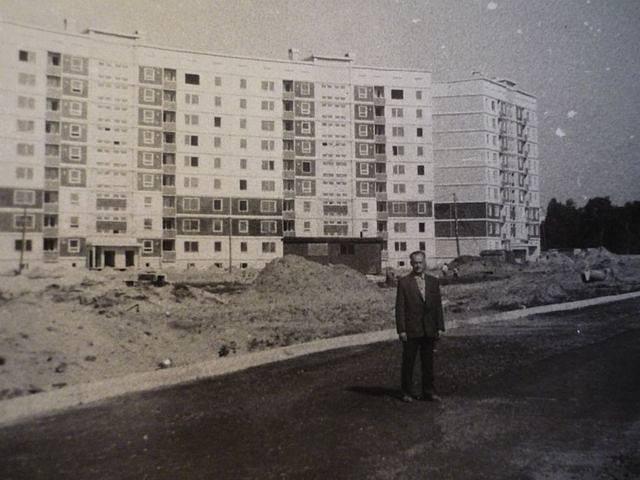 1987 год. Рига. Золитуде - первые дома